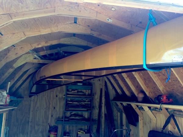 canoe on a hose_Burre 1